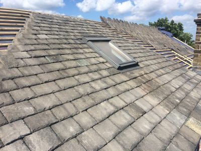 Burlington Slate Re-roof