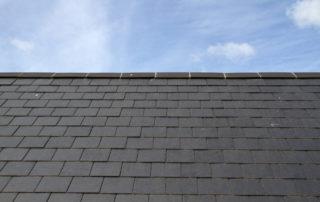Blue Slate Roof
