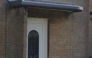 Fibreglass GRP Porch
