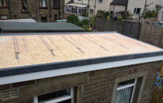 Fibreglass Roof