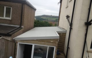Sheeted Roof