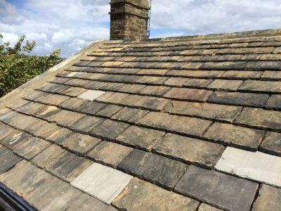 Stone Slate Re-roof
