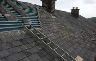 Burlington Slate Roof