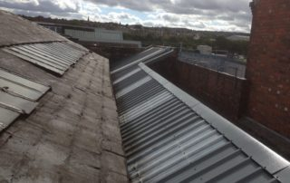 Factory Sheeted Roof