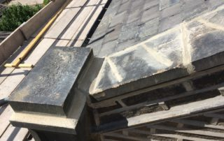 Re-roofing Coping Stones