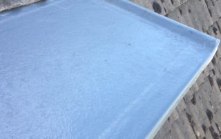 Small Fibreglass Roof