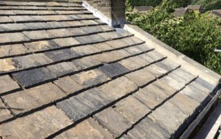 Stone Re-roofing