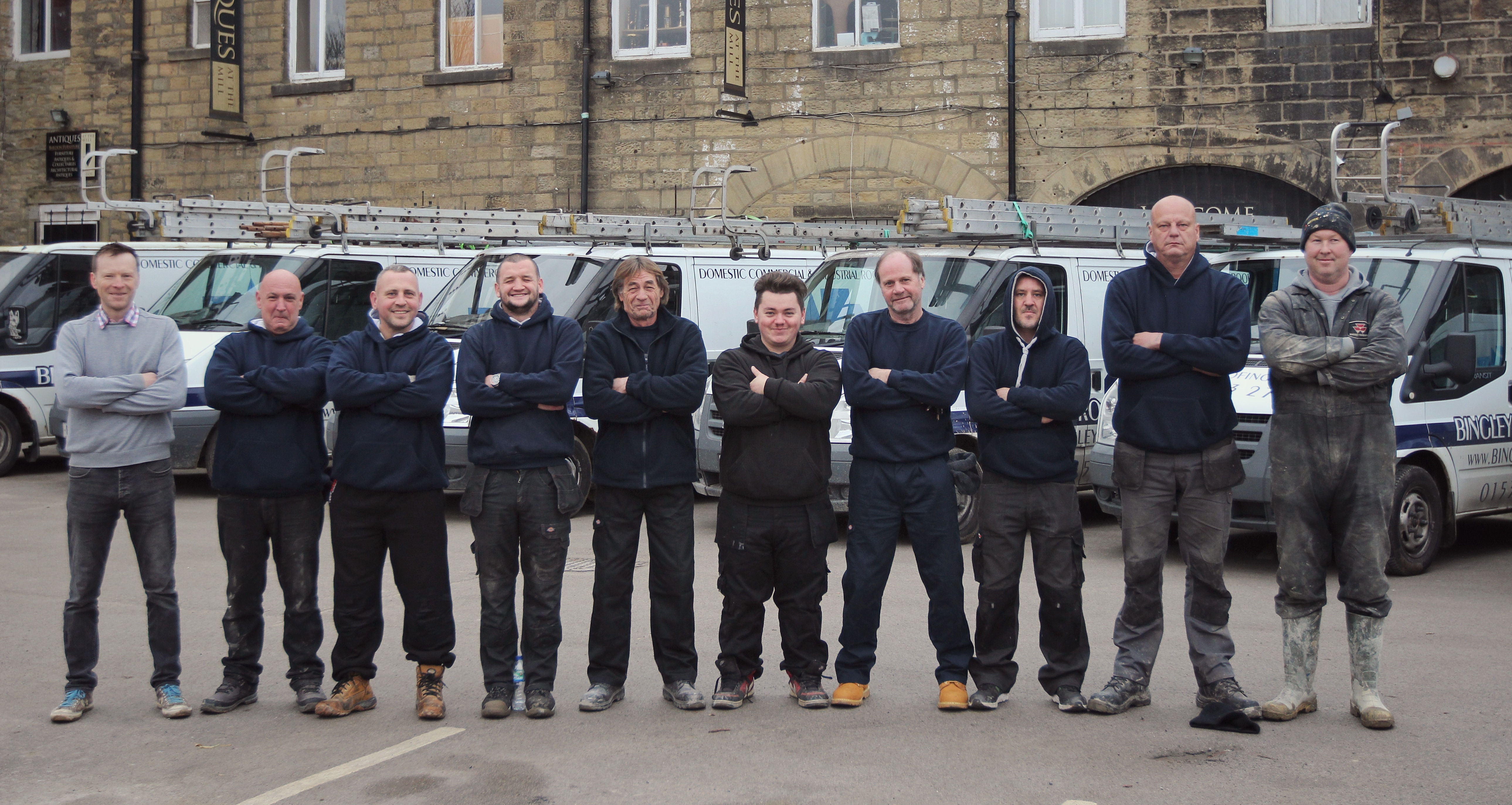 The Roofing Team